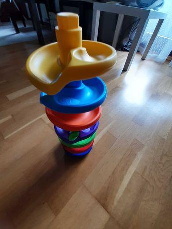 Zabawka zjeżdżalnia z kulkami