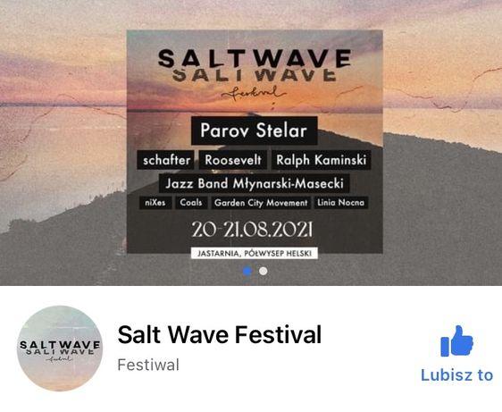 Salt Wave festiwal 2 dniowe karnety
