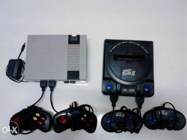 Jogos Mega Drive Nintendo NES Consola Street Fighter III GK 500