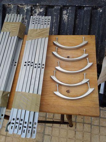 12 guias de gavetas de corer seis esrquedas e seis direitas 12 purafuz