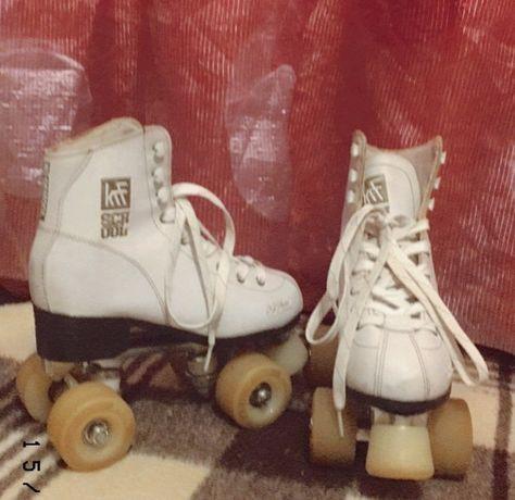 patins e protecão
