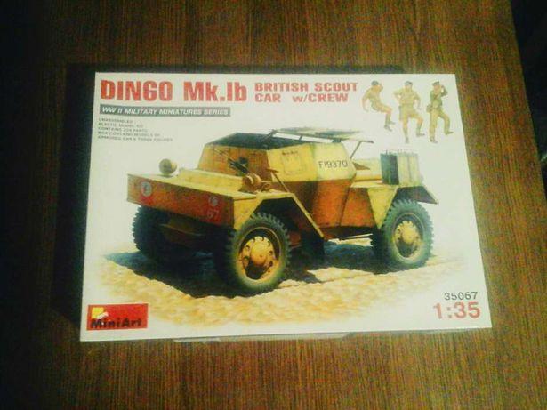 Сборная модель Dingo. Mk.Ib