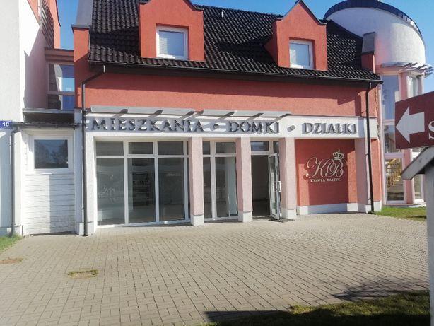 WYNAJME LOKAL handlowy gastronom sklep salon 60 m Darłówko