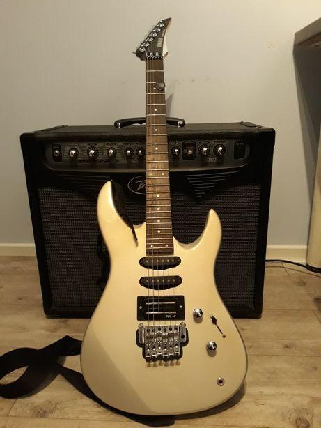 Gitara Yamaha RGX 312 + wzmacniacz PEAVEY model  Wypyr75