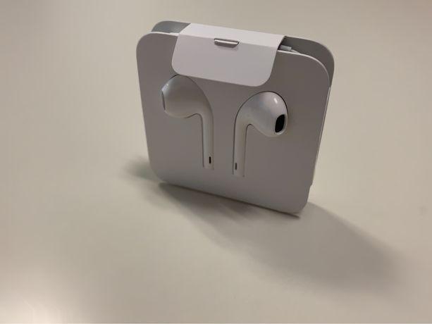 Oryginalne słuchawki Apple Earpods ze lightning. Nowe