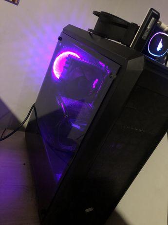 Komputer do gier Rx570 8gb Ryzen 24gb ram ssd