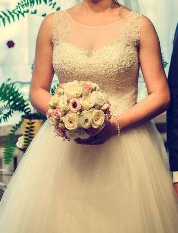 Suknia ślubna Agnes r. 38