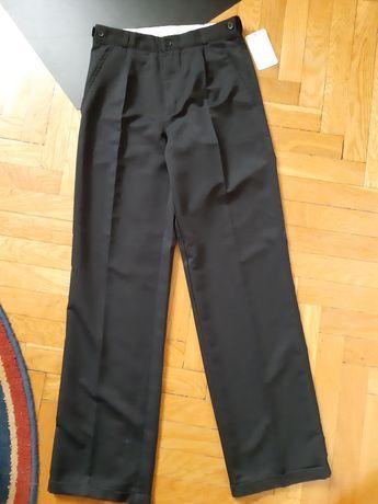 NOWE Eleganckie spodnie garniturowe 158
