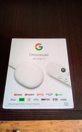 Google Chromecast 4.0 TV 4K Pilot