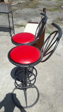 Продам барные стулья ручной работы