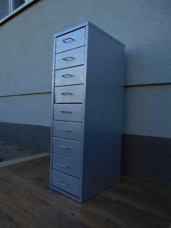 Szafka metalowa warsztatowa 9 szuflad wysoka 98cm