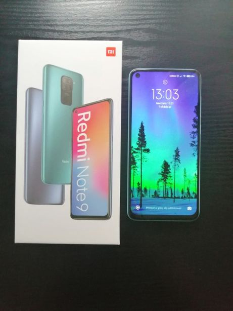 Xiaomi Redmi Note 9 Polar White 3GB RAM 64 ROM