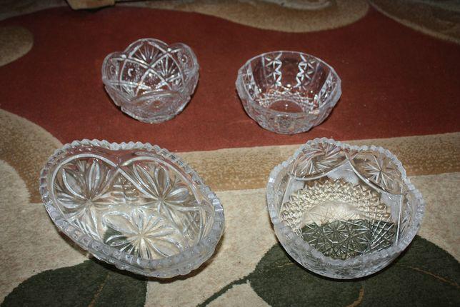 хрустальные вазы в ассортименте