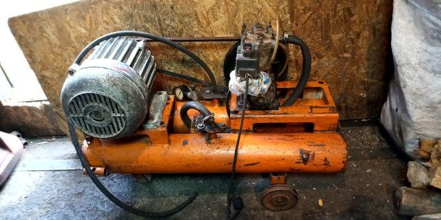 2 компрессор 3 электродвигатель 5