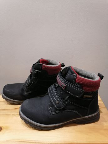 Buty ocieplane z nubuka 32