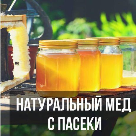 Качка 2021 МЕД 100% Натуральный Цветочное Разнотравье, Сотовый мед