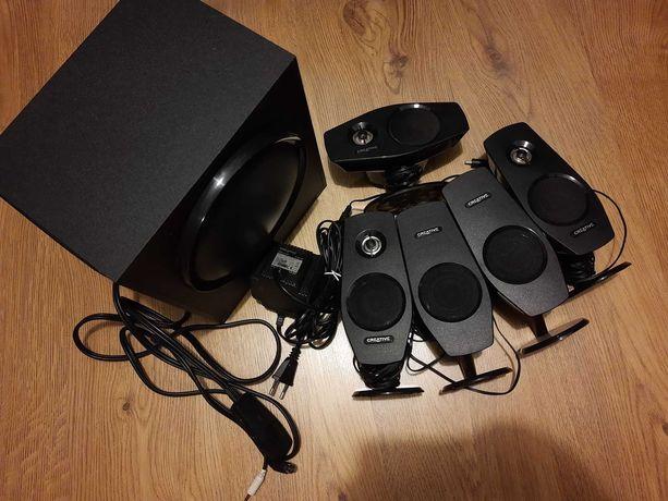 Głośniki Creative 5.1 Inspire T6060 i karta dźwiękowa Sound Blaster