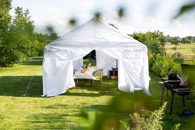 Wynajmę namiot imprezowy 6 x 4m.
