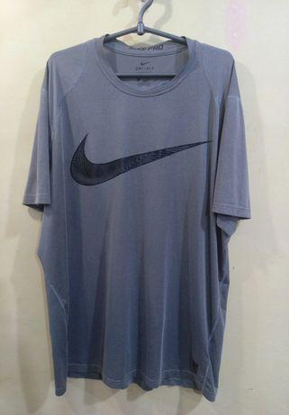 Оригинал легкая летняя футболка Nike Pro Fitted Swoosh