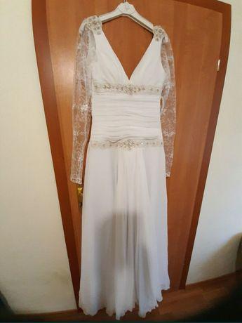 Свадебное платье с рукавами + подарок