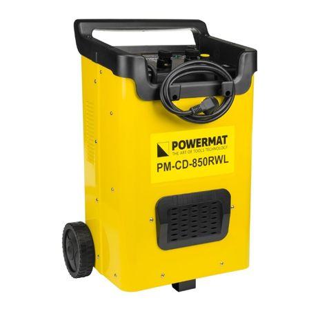 Prostownik akumulatorowy 12/24V 850RWL z rozruchem firmy Powermat