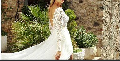 Biała suknia ślubna model- BYMAKO