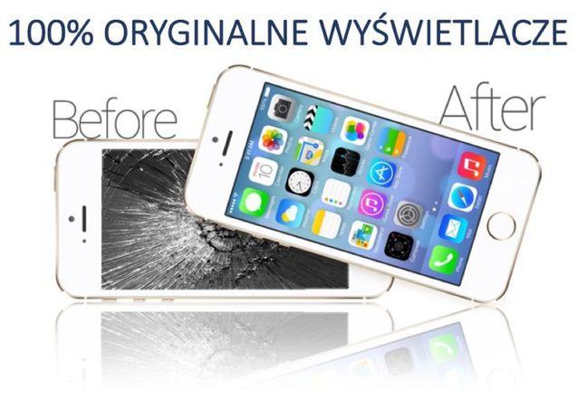 100% Oryginalny Wyświetlacz Wymiana iPhone 5S 6 6S 7 8 X Plus Szybki