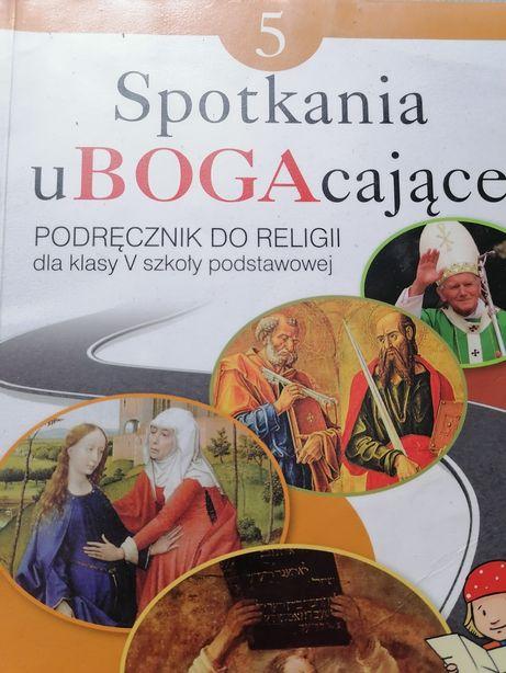 Podręcznik do religii dla klasy 5