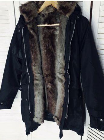 Куртка парка тёплая