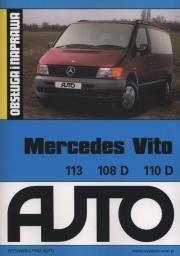 por Mercedes Vito 113 108D 11D Obsługa i naprawa