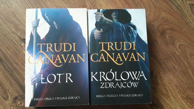 Zestaw ksiazek Trudi Canavan Łotr Królowa zdrajców