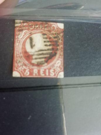 Vários selos portugueses e outros