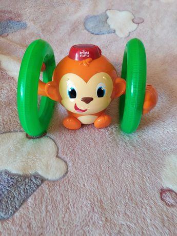 Fikająca małpka Bright Starts