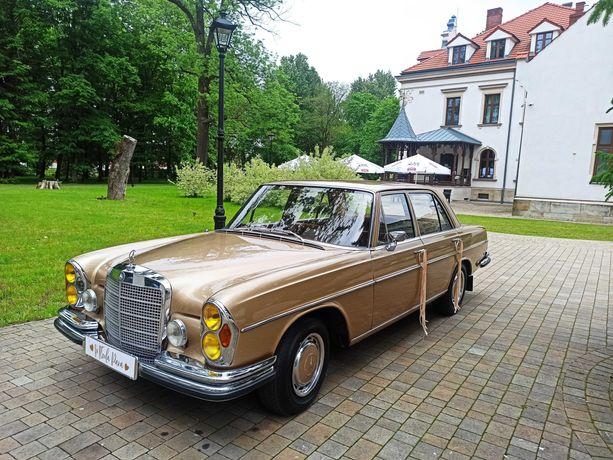 Zabytkowy Mercedes W108 z 1972r. do Ślubu Krosno Podkarpacie