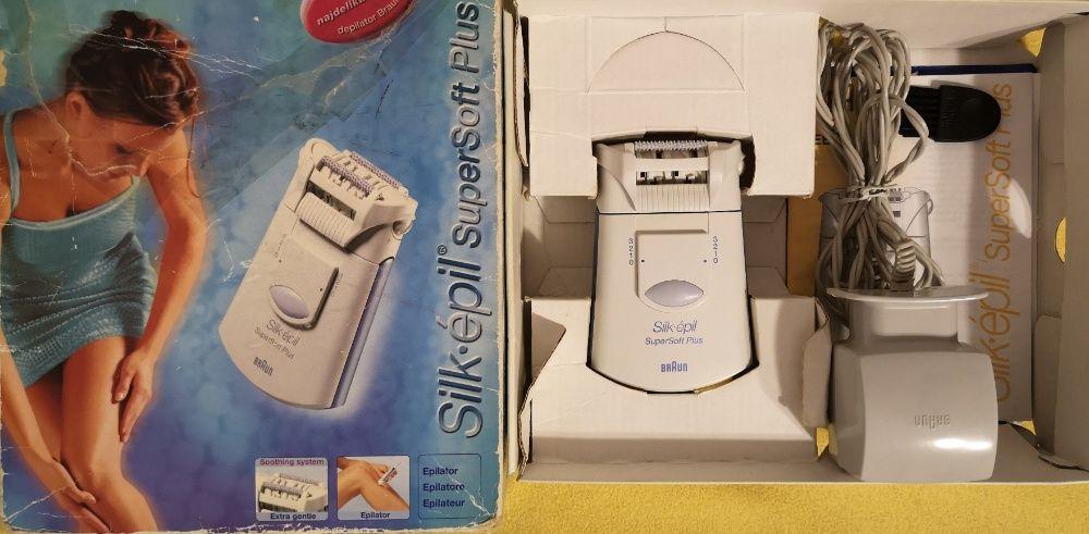 Depilator Braun Silk-epil SuperSoft Plus. Stan idealny Kraków - image 1