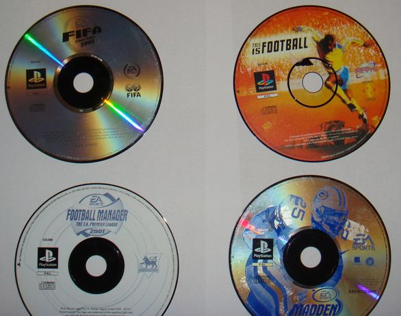 Fifa 2003 + This is Football + inne (psx)