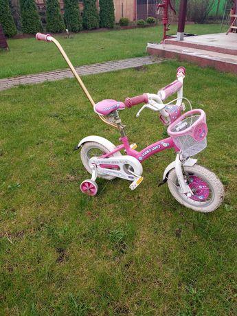 Rower 14 cali dziewczynka