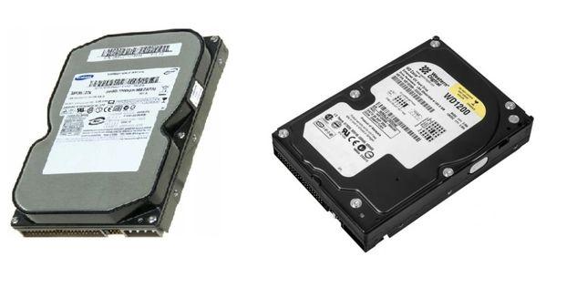 Dysk twardy HDD-ATA, SATA, 80GB - 160GB