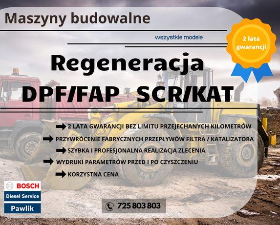 Regeneracja / Czyszczenie DPF Katalizator SCR KOPARKO-ŁADOWARKA