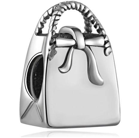 Charms PANDORA srebro 925 torebka kobieca torebeczka okazja tanio