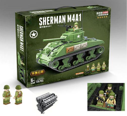 Танк M4 «Шерман», военный конструктор, аналог Лего