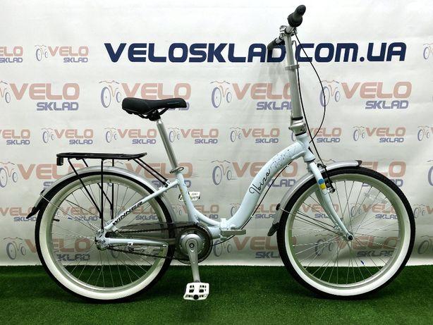 Складной алюминиевый велосипед Winner Ibiza 24 кол