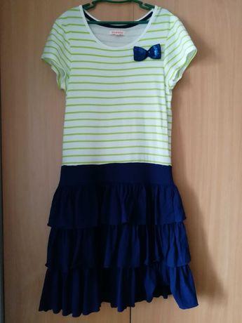Красивое платье bluezoo на 11-12 лет