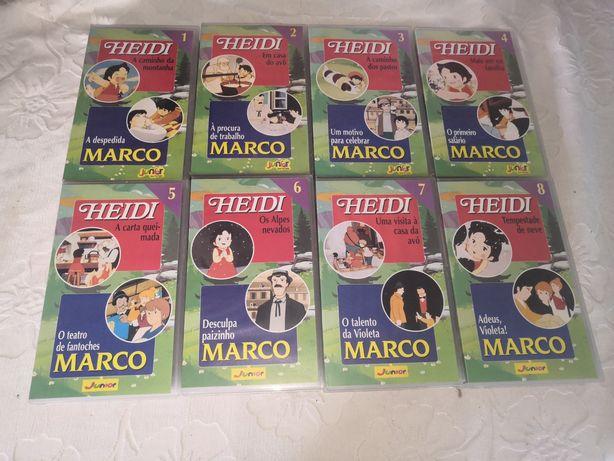 Heidi&Marco_31 VHS originais