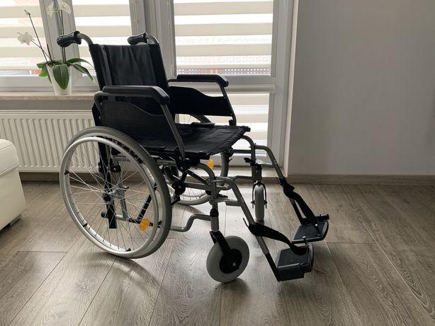 Wózek inwalidzki składany jak NOWY