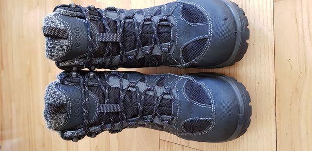 ECCO Gore-Tex  zimowe buty chłopięce rozm. 39