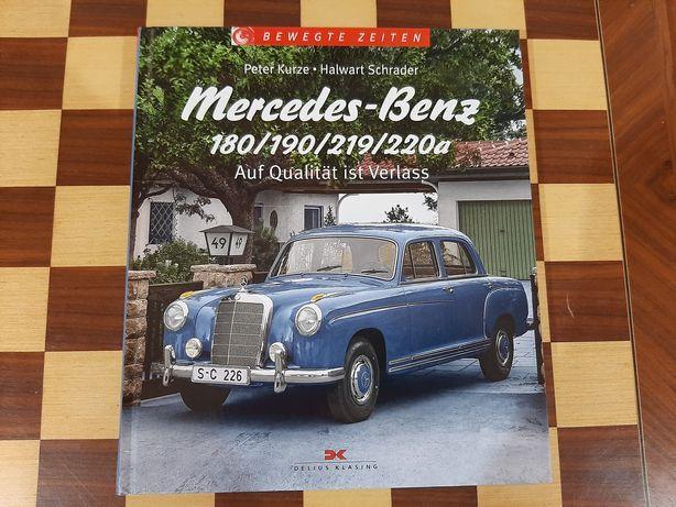 Livro Mercedes-Benz 180/190/219/220a