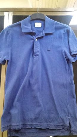 Polo Lacoste Collector Vintage Washed Blue