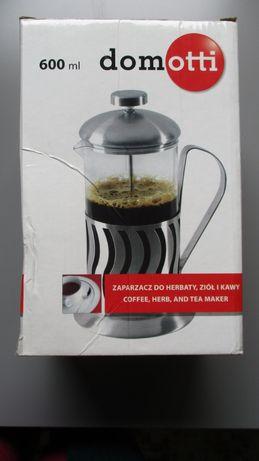 Zaparzacz do herbaty ziół kawy 600 ml Domotti nowy