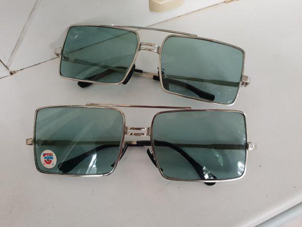 Ексклюзивные очки 80-х годов,СТЕКЛО,настоящий раритет,окуляри